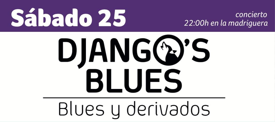 Django's Blues en concierto Huelva enero Espacio Rubens la Madriguera