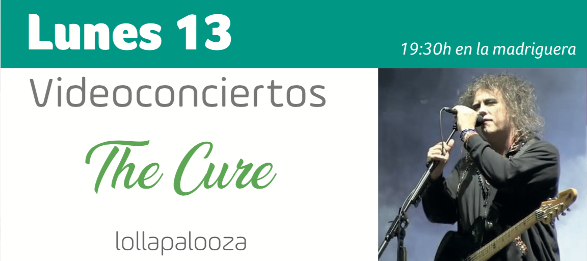 Videoconcierto the Cure Huelva