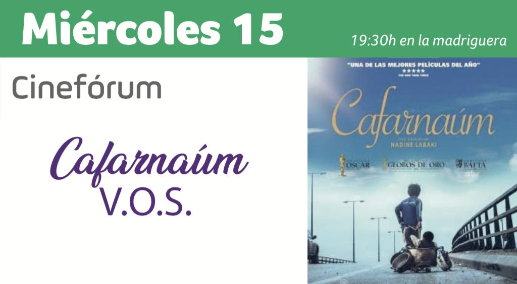 Cinefórum Cafarnaúm Huelva